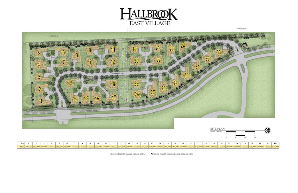 Hallbrook East Village